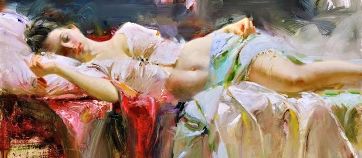 Kef tranquility Everlasting Beauty by Pino Daeni via LaWhimsy