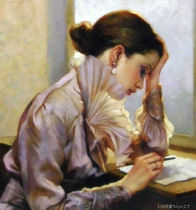 lethologica letter writing Gianni Strino, La lettera via LaWhimsy