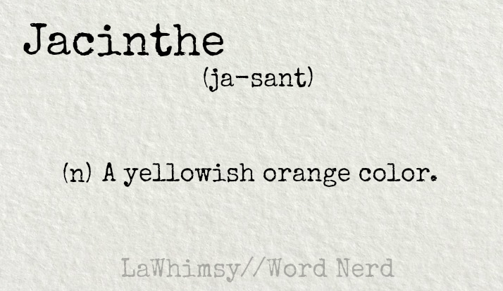 jacinthe definition word nerd via lawhimsy