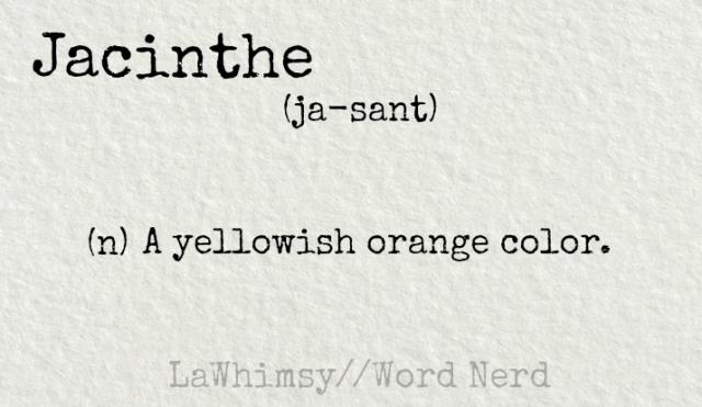 jacinthe definition word nerd via lawhimsy