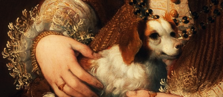 portrait-of-a-lady-with-a-dog-minutiae-detail-by-lavinia-fontana-via-lawhimsy