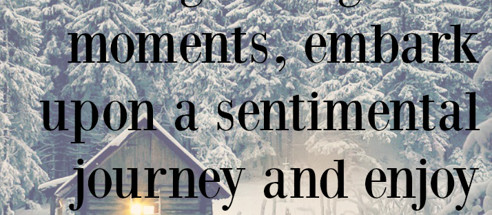 Winter a lingering season is a time to gather golden moments John Boswell quote Monday Mantra 140 via LaWhimsy