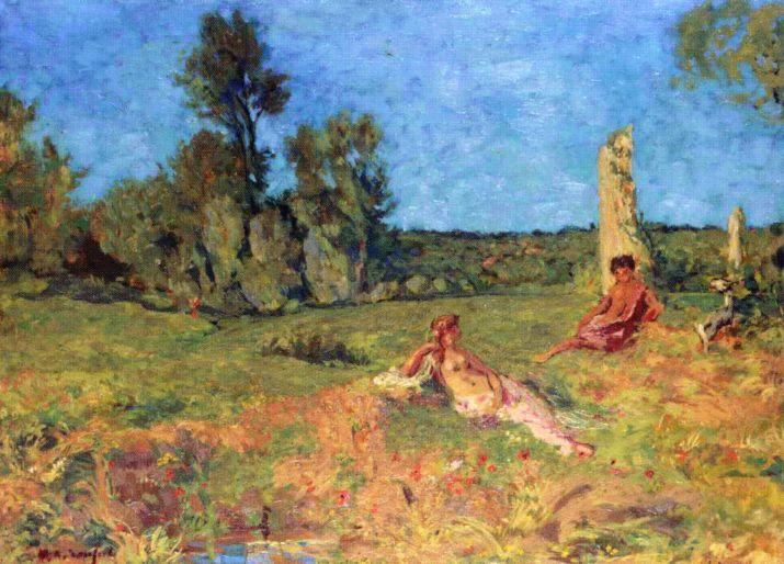 Bucolic Scene, 1910 Ker-Xavier Roussel via LaWhimsy