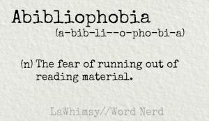 abibliophobia definition Word Nerd via LaWhimsy