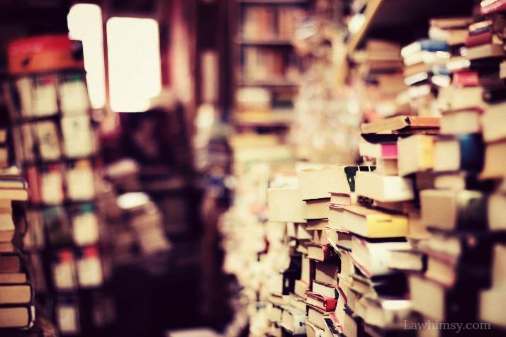 abibliophobia relief bookstore dreams via LaWhimsy