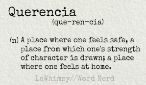 querencia definition Word Nerd via LaWhimsy