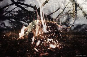 diablerie mischief in a dreamscape digital art via LaWhimsy