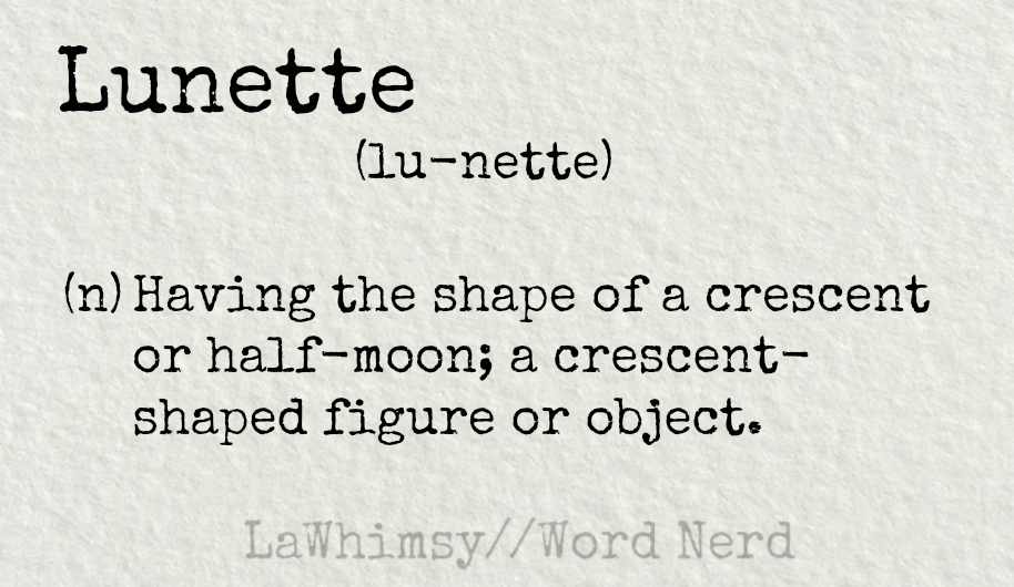 lunette definition word nerd via lawhimsy