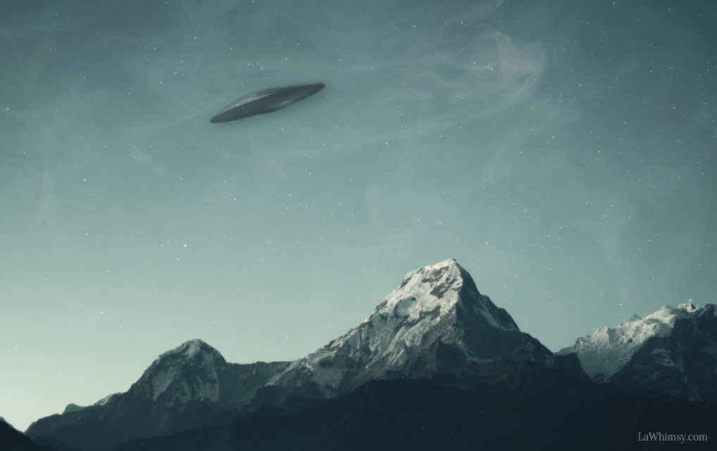 Putting the ufo in Ufology digital image via LaWhimsy