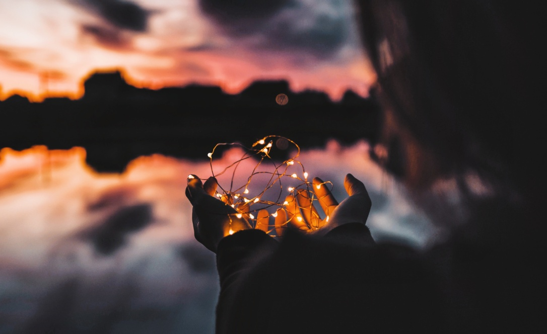 may this light be solacing in a dark time image crop from photo by Natalya Letunova via LaWhimsy